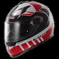 Шлем LS2 FF322 VOLTAGE WHITE RED размер М
