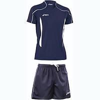 Волейбольная форма ASICS T-shirt Volo / Short Zona T604Z1-5001/T605Z1-0050