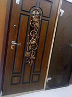 Двері вхідні АРМА з склопакетом