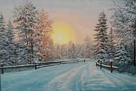 «Зимний сон» картина маслом
