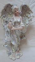 Статуэтка ангелочек с цветами , фото 1