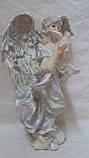 Статуэтка ангелочек с птицей , фото 2