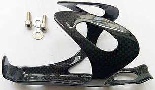 Карбоновый флягодержатель для бутылки на велосипедную раму, фото 2