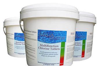 Хлор Multifunction 3 в 1 AquaDoctor, 5кг