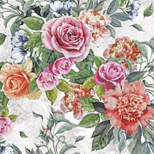 Салфетка декупажная Розы и пионы 5569