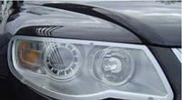 Пластиковая защита фар (прозрач.) EGR VW TOUAREG 07-11 #