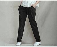 Модные зауженные и классические льняные женские брюки любой размер. Цвет на выбор, фото 1