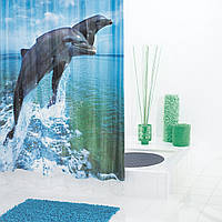 Шторка для душа и ванной Dolphin 180*200 см, Ridder (Германия) 35810