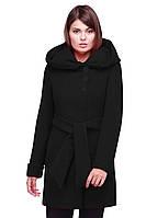Классическое женское пальто  с капюшоном