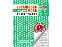 Українська мова Орфографія Довідник у наліпках
