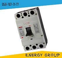 Силовой автоматический выключатель 400SL, 3p, 300А