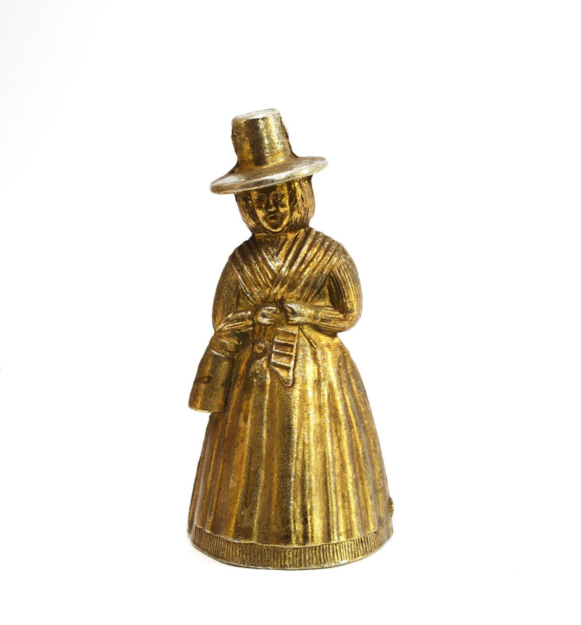 Коллекционный колокольчик, латунь?, Англия