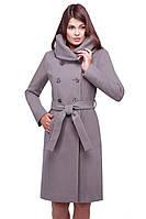 Красивое классическое пальто с карманами