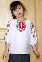 "Блузка вышитая ""Розы"" р.36"