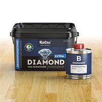 Лак паркетный  2-х компонентный полиуретановый водоразбавимый «Diamond Extra» Premium 2,8л полумат