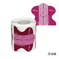 """Форма для наращивания ногтей JT-05B одноразовая универсальная, бумажная на клейкой основе, идеальный """"С-изгиб"""" (150 шт)"""
