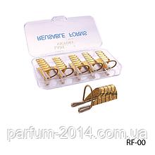 Форми для нарощування нігтів RF-00 багаторазові, металеві (5 шт в уп)