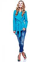 Короткое женское кашемировое пальто