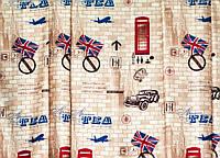 """Портьерная ткань """"Лондон"""" (темно-бежевый), фото 1"""
