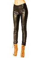 Модные леггинсы с эко кожи с 42 по 52 размер.