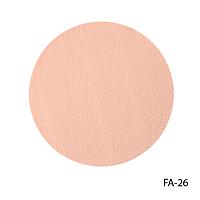 Спонжи FA-26 для очищения кожи, большие (2 шт, круглые)