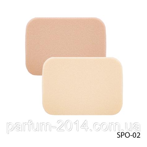Спонжи SPO-02 для снятия макияжа (2 шт, прямоугольной формы), фото 2