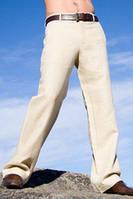 Брюки мужские классика  льняные, разные цвета, натуральный лен,, фото 1