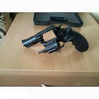 """Револьвер Trooper 3"""" цинк мат/чёрн пласт/чёрн, оружие, револьверы, пистолеты, револьвер под патрон Флобера"""
