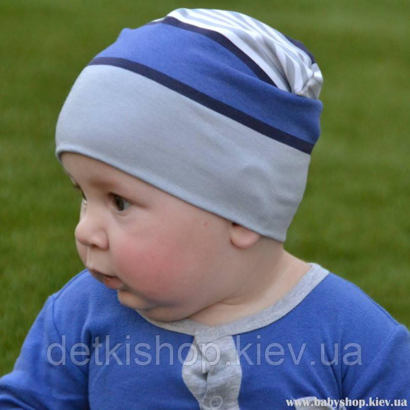 Детские шапочки Kinder Comfort (голубая полоска)
