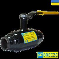 Кран шаровый стальной приварной Breeze 11С37П ДУ20-250 РУ40/25