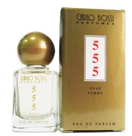 Парфюмерная вода для женщин Carlo Bossi 555 Woman мини 10 мл (01020104201)