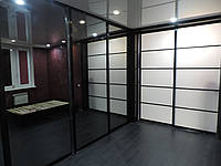 Шкаф-купе гардероб большой зеркальный, фото 1