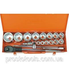 Профессиональный набор инструментов 3/4 19 ед. Corona C1701