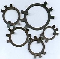 Шайба ГОСТ 11872-89 стопорная многолапчатая оц.
