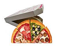 Упаковка под большую пиццу до 40 см готовая со склада