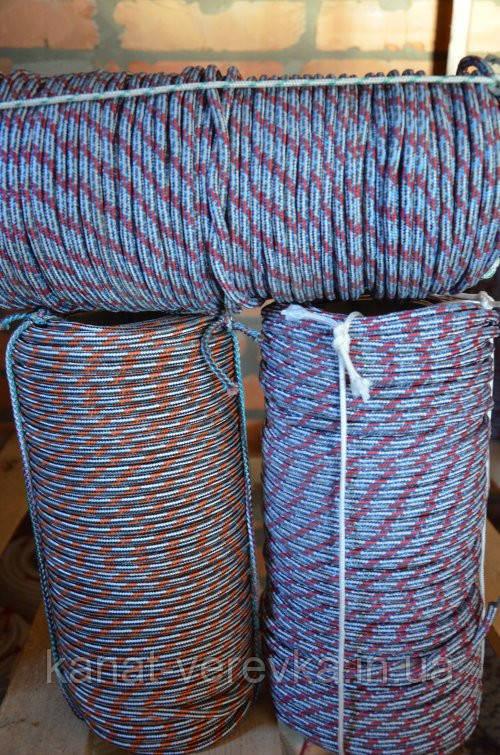 Полипропиленовая прочная веревка 8 мм 100 м.