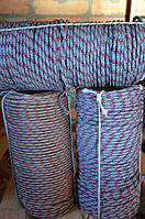 Веревка плетенная 10 мм - 50 м. Шнур