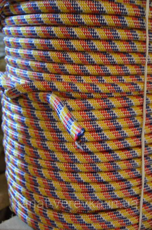 Полипропиленовый шнур 10 мм. 100 м, веревка