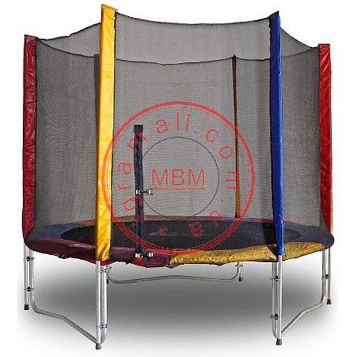 Батут гимнастический  с защитной сеткой Kidigo  244 см.