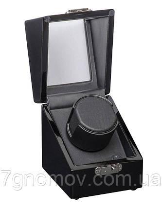 Шкатулка для подзавода часов, тайммувер для 1-х часов Rothenschild RS-1041-BB, фото 2