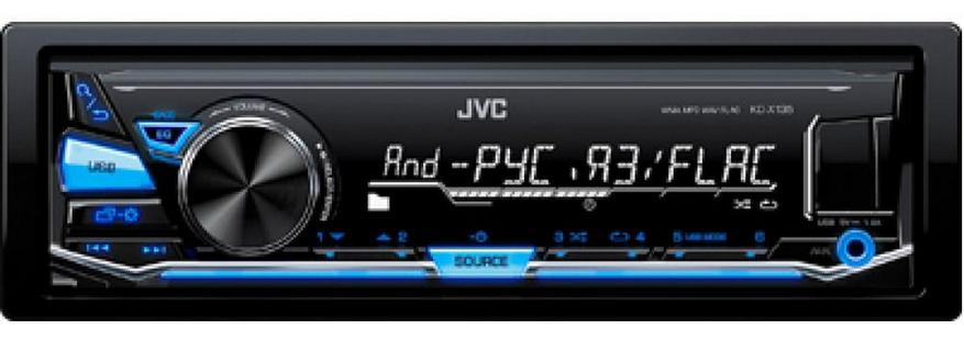 Автомагнитола JVC KD-X135Q, фото 2