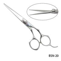 """Ножницы парикмахерские BSN-20 - для стрижки, эргономичной формы, размер: 5,6"""""""