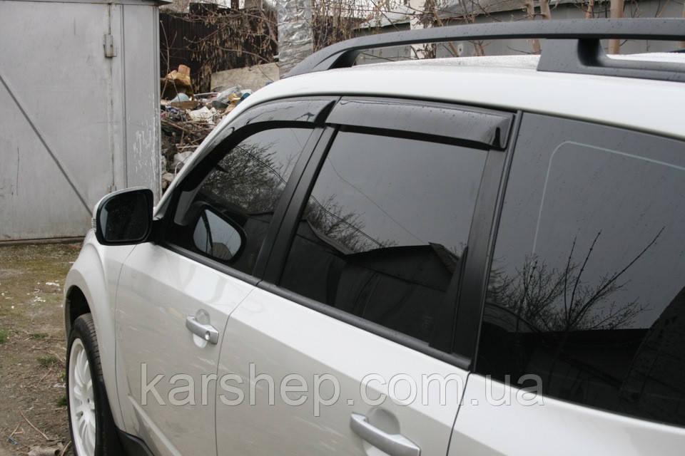 Дефлектор окон на Subaru Forester II 2002-2008