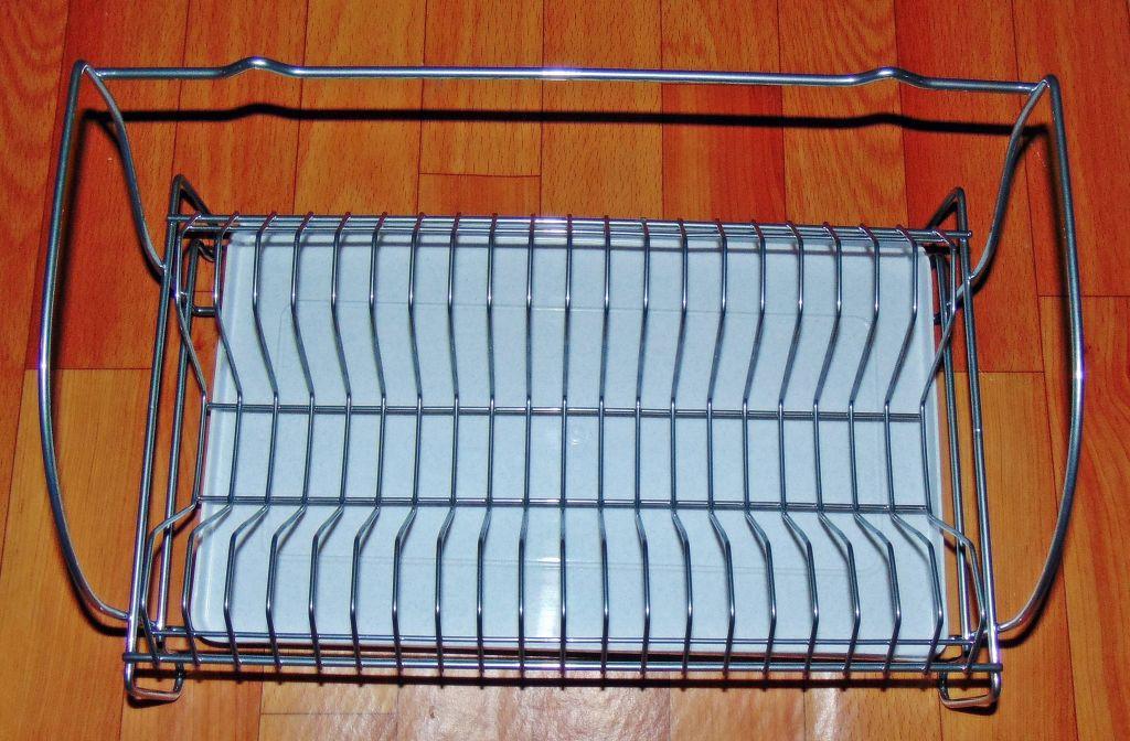 Сушка для посуды одноярусная настенная Дуга