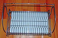 Сушка для посуду одноярусна настінна Дуга, фото 1