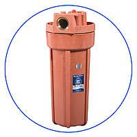 """Корпус фильтра, для горячей воды, 10"""", двухэлементный , FHHOT-1"""