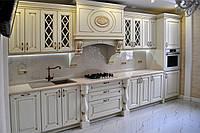 Кухня на заказ из МДФ в классическом стиле, фото 1