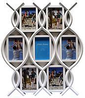 Фотоколлаж на 7 фотографий, 10*15 , 500х570х20