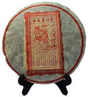 """Китайский черный чай - шу пуэр """"Козочка"""", 1999 г., 357 г"""