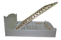 Кровать полуторная из МДФ с подъёмным механизмом Неман Доминика (спальное место ШхГ - 1400х2000)